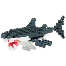 Great White Shark Nanoblock Micro Sized Building Blocks NBC_082 Mini Nano Block