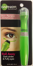 Garnier Skin Renew Anti-Puff Eye Roller Roll away Dark Circles Puffy eyes 0.5 oz