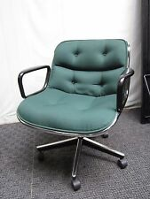 200 Mid Century Charles Pollock office chair authentic knoll
