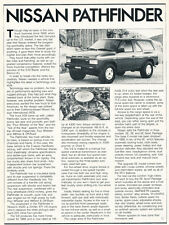1988 Nissan Pathfinder - Original Car Print Article J242