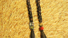 JACK SPARROW BEARD EXTENSIONS and CHIN  BEADS for moustache