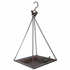 Gardman HYKING CLASSIC BIRD FEEDER Antique Metal Finish, BRONZE *UK Brand