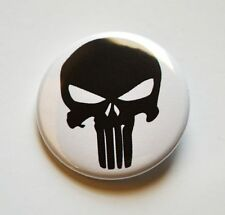 "The Punisher Frank Castle Marvel Civil War Pinback Button - 1.5"" - Free Shipping"