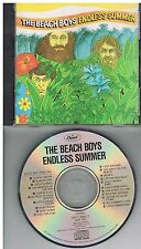 The Beach Boys ‎– Endless Summer CD 1987 Made In Japan