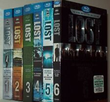 LOST The Complete TV Series Seasons 1-6 Blu-ray Sets Brand New And FREE SHIPPING