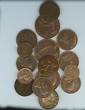 LOT of 16 Coins Mixed Foreign Coin Great Britain Ireland Canada