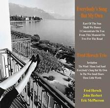 FRED HERSCH TRIO-EVERYBODY'S SONG BUT MY OWN-JAPAN SACD J76