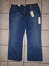 NWT Womens Levi's 515 Boot Cut Stretch jeans ~ Size 22W Short