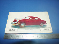 CHROMO 1950-1959 CHOCOLAT CEMOI DECOUPAGE AUTOMOBILE AUTO MERCURY