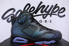 NIKE AIR JORDAN 6 RETRO VI CHAMELEON ALL STAR 2017 BLACK 907961 015 SZ 11.5