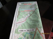 PINE MOUNTAIN TRAIL MAP Waterpoof  Illustrated folding TOPO HARRISON MAPS