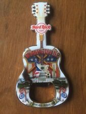 Hard Rock Cafe Washington DC City Guitar Bottle Opener Magnet V13