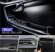 """16 """"Edge Gap Blue línea interior Trim moldeo 1ea (5m) para Universal Todo Vehículo"""