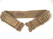 Spanish Am War US 1894 Mills Woven Cartridge Belt .30-40 Cal Krag Rifle w/Prov
