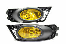 2009-2011 Honda Civic FB 4 door JDM Yellow Fog Light Kit EX DX LX SI Mugen