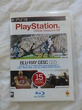 PlayStation 3 PS3 Blu-Ray Disc 015 - 15 Playable PS3 demos