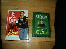 2 Jeff Foxworthy Books How To Really Stink At Golf No Shirt No Shoes No Problem!