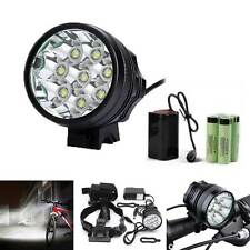 32000LM CREE XM-L T6 LED 18650 Bicycle Cycling Head Light Waterproof Bright Lamp