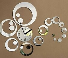 Creative DIY acrylic mirror wall clock Modern Sticker Room Large New Bedroom