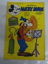 Micky Maus 1978 Nr: 36 mit Beilage Pinocchio-Theater 1 Disney Ehapa Ke 7