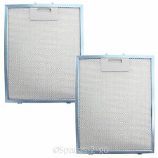 UNIVERSAL Cooker Hood Vent Filter Extractor Fan Metal Mesh Blue 300x240 (2 Pack)