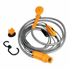 DC12V Portable Electric Car Auto Camping Hiking Travel Outdoor Shower Kit Hook