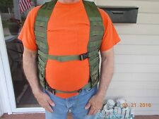 Molle II Woodland Camo Fighting Load Carrier Vest, Very Good Condition
