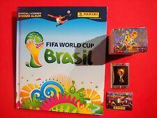 Panini komplett Satz WM 2014 + Hardcover Album World CUP Brasilien 14 - alle 640