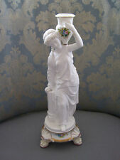 Gorgeous Large European Water Carrier Figurine/Candle Holder