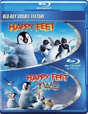 Happy Feet/Happy Feet 2 (Blu-ray Disc, 2013) NEW