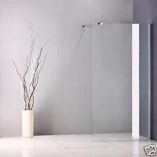 1000x1850mm Walk In Shower Enclosure Wet Room 8mm Glass Screen Door Panel
