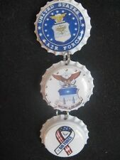 United States Air Force Inside Rear View Mirror Ornament ~ **Gift Idea