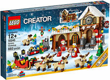 2014 CHRISTMAS LEGO CREATOR 10245 SANTA'S WORKSHOP; NEW, RETIRED, GREAT GIFT!