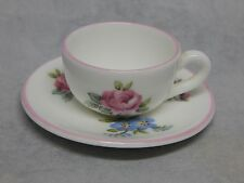 Crown Staffordshire Miniature Cup and Saucer Set