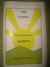 The Coming Environmental Sabbath Book~Mark of the Beast~7th Day Adventist~NWO