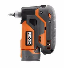"NEW RIDGID 12-Volt Lithium-Ion 1/4"" Cordless Palm Impact Screwdriver Power-Tool"