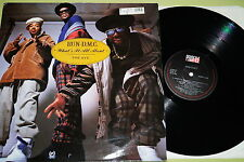 """Run-D.M.C. -  What's It All About / The Ave., Vinyl, 12"""" Maxi, UK'90, mint-"""