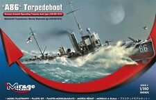 A 86 German Torpedoboat A/III Class, MIRAGE HOBBY 350505, SCALE 1:350
