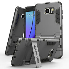 Samsung Galaxy Note 5 Case Cover Shockproof Armor Kickstand Scratch Resist
