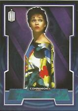 "Topps Doctor Who 2015 - No. 47 ""Tegan Jovanka"" Blue Parallel Card #114/199"