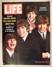 Life Magazine - August 28, 1964 ~~ The Beatles cover/article