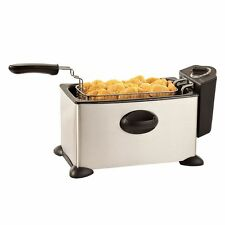 BELLA 13401 3.5L Deep Fryer , Stainless Steel Fry - FREE SHIPPING