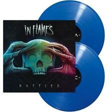 "In Flames - Battles (Preorder Out 11th November) (NEW 2 x 12"" BLUE VINYL LP)"