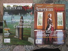 AMERICAN SPIRIT LOT 2 ISSUES Jan / Feb & Nov / Dec 2013 DAR Revolution Magazines
