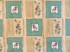 Beige multi floral bouquet decorator material by Mill Creek in 14 subtle colors