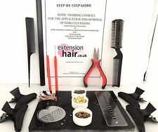 Estensioni capelli Micro Anello Step by Step HOME TRAINING KIT