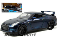 JADA 97036 FAST AND FURIOUS 7 BRIAN'S 2009 NISSAN SKYLINE GT R R35 1:24 BLUE