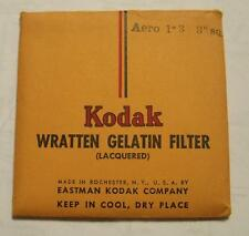 "KODAK WRATTEN GELATIN FILTER NO. Aero 1-3  3"" or 7.6cm Square"