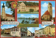 Alte Postkarte - Markt Wartenberg Oberbayern