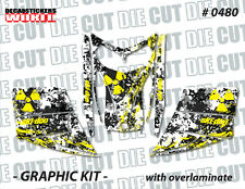 SKI-DOO REV MXZ SNOWMOBILE SLED WRAP GRAPHICS STICKER DECAL KIT 03-07 0480